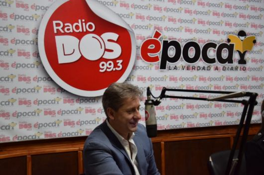 """Eduardo Vischi: """"La agenda de Gustavo Valdés es la misma que tiene la gente"""""""
