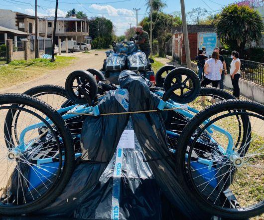 La ONG CILSA regresó a Corrientes y entregó 70 sillas de ruedas a vecinos de 9 ciudades