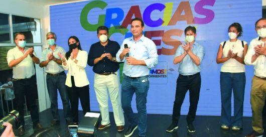 ECO consolidó sus candidato en las PASO y Valdés instó a ampliar la ventaja en Noviembre
